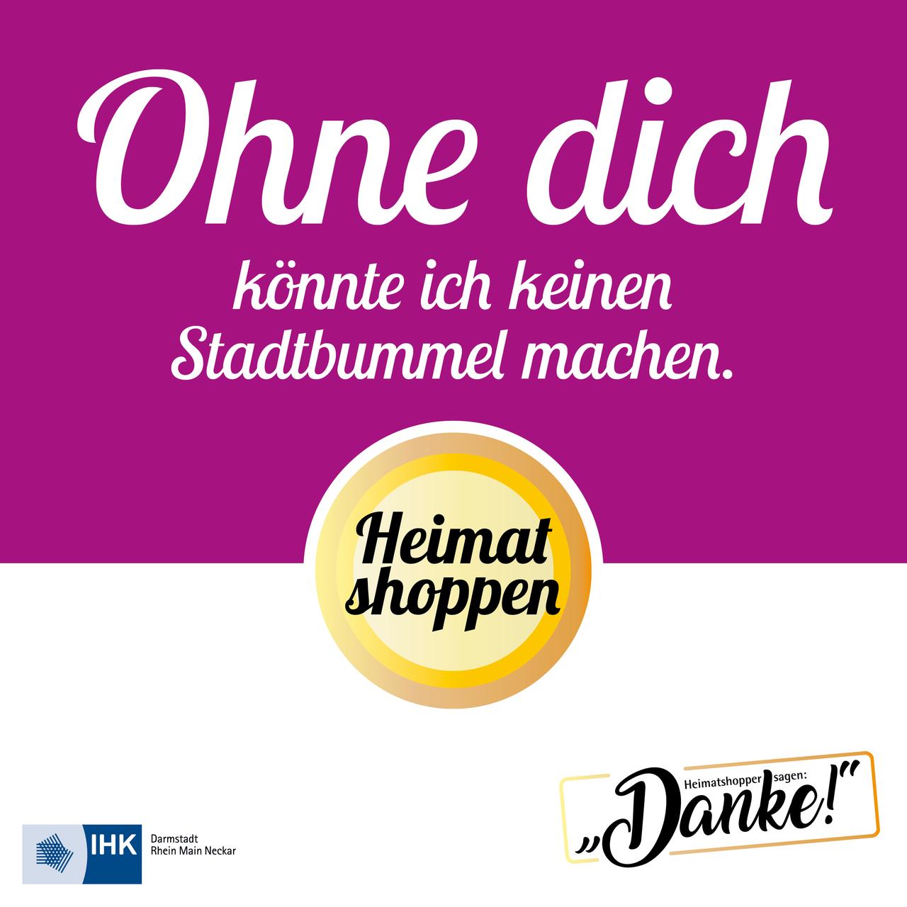 "Kampagne ""Heimatshopper sagen Danke!"""